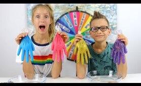 Mystery wheel of slime gloves